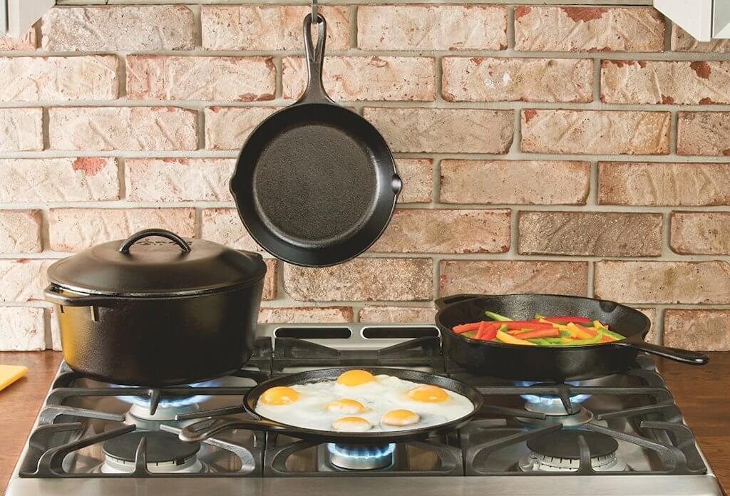 14354 Как подготовить чугунную сковороду к использованию и как ее хранить