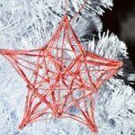 14701 Новогодние поделки из ниток и клея – сделать вифлеемскую звезду своими руками