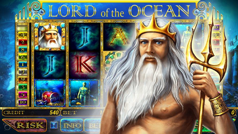 Казино Вулкан – как играть в слот Lord of the Ocean на своем телефоне?